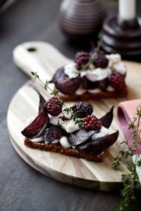 catering open sandwisches