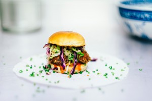 fried chicken burger DD catering gallery